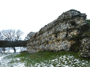 Roman walls Silchester