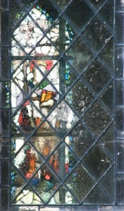 St Mary's Church Silchester window