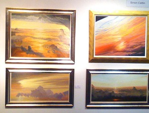 Paintings by Simon Cattlin at Henley Festival 2011