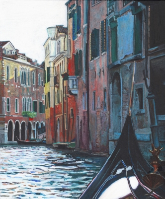 Venice painting by Helen White