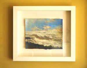 Cloud painting by Helen White