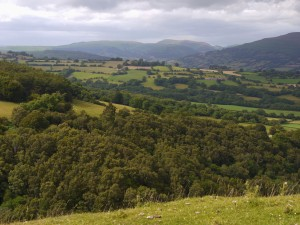 Usk Valley, Brecon