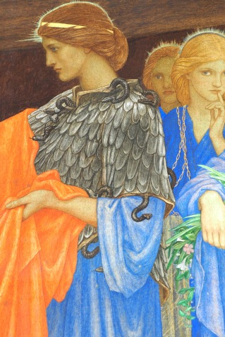 Pandora pre-Raphaelite painting JD Bitten, Pandora and the return of the divine feminine